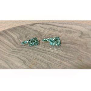Oklahoma stud earrings